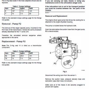 JCB 467 Wheeled Loader Shovel Service Manual
