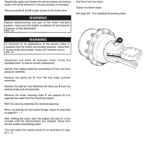 JCB 435 Wheeled Loader Shovel Service Manual