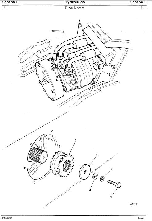 Jcb 185, 1105 Skidsteer Loader Robot Service Manual
