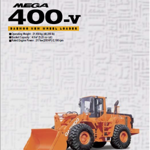 Doosan Daewoo Mega 400V Loader Service Manual