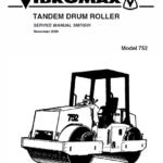 Jcb Vibromax 752 Tandum Drum Roller Service Manual