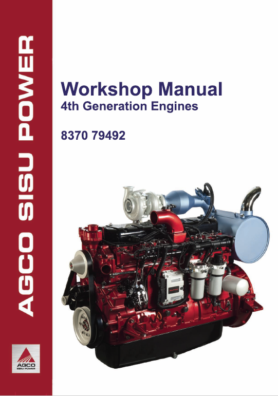 AGCO Sisu Power 33, 44, 49, 66, 74, 84,98 (4th Generation) Engine Manual