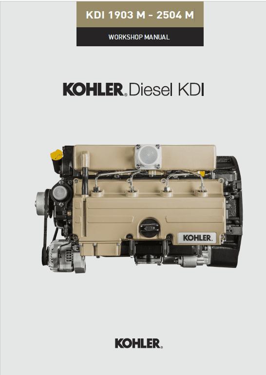 Kohler Diesel Kdi 1903 M And Kdi 2504 M Engine Service Manual