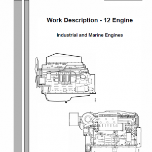 Scania Di, Dc12 12-litre Engine Workshop Service Manual