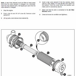 Jcb Js130w, Js145w, Js160w, Js175w Excavator Service Manual