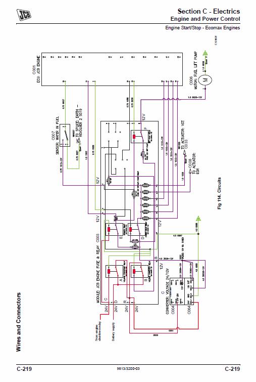 Jcb Js115, Js130, Js145, Js160, Js180, Js190, Js200, Js210, Js220, Js235 Excavator Manual