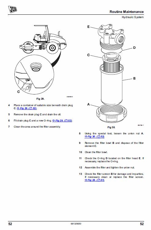 Jcb Vibromax Vm115 Tier 2 Service Manual