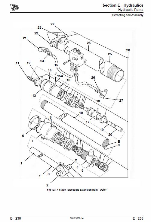 Jcb Telescopic Handlers Loadalls 530-70 – 540-170 Series Service Manual