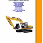 Jcb Js200, Js220, Js235, Js240, Js260 Tier 3 Excavator Service Manual
