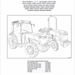 Massey Ferguson Mf3600 V – S – F – Ge Series Tractors Workshop Manual