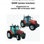 Massey Ferguson 5410, 5420, 5430, 5440, 5450 Tractors Service Manual