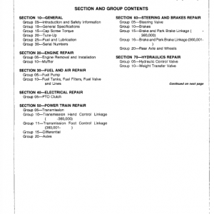John Deere F910, F930 Front Mower Service Manual Tm-1301