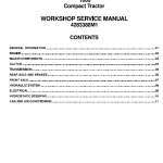 Massey Ferguson 1660 Tractor Service Workshop Manual