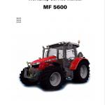 Massey Ferguson 5611, 5612, 5613 Tractors Repair Service Manual