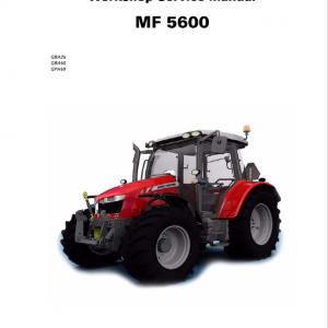 Massey Ferguson 5611, 5612, 5613 Tractors Repair Service Manual