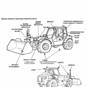 Massey Ferguson Mf 8947 Telescopic Handler Service Manual