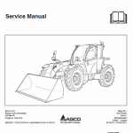 Massey Ferguson MF 9306, 9407 Telescopic Handler Service Manual