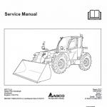 Massey Ferguson MF 9407TS, 9407S Telescopic Handler Service Manual
