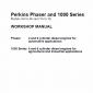 Perkins Engines Phaser and 1000 Series Workshop Repair Service Manual
