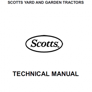 John Deere S2048, S2348, S2554 Scotts Tractor Manual TM-1777