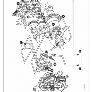 John Deere 4400 And 4500 Telescopic Handlers Service Manual