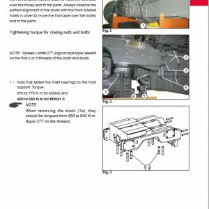 Massey Ferguson 7140, 7150, 7170, 7180 Tractor Service Manual