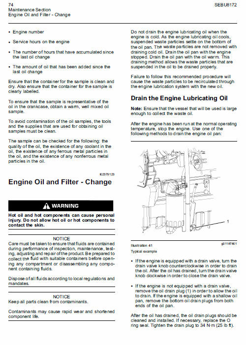 Perkins Engines 1104d Series Workshop Repair Service Manual