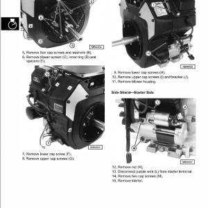 John Deere M653, M655, M665 Ztrak Service Manual