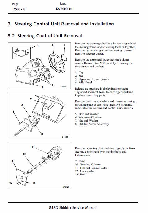 John Deere 848g Skidder Service Manual Tm-1898