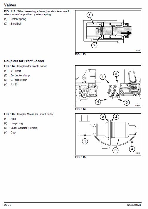Massey Ferguson 1547, 1552 Tractor Service Workshop Manual