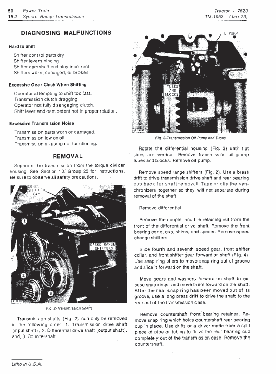 Excellent John Deere 7520 Tractor Service Manual Tm 1053 Wiring 101 Ferenstreekradiomeanderfmnl