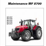 Massey Ferguson 8727, 8730, 8732, 8735, 8737 Tractor Service Manual