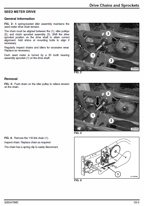 Massey Ferguson 8936 Planter Repair Service Manual
