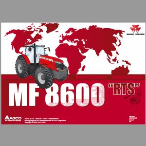 Massey Ferguson 8650, 8660, 8670, 8680, 8690 Tier 4i Tractor Service Manual