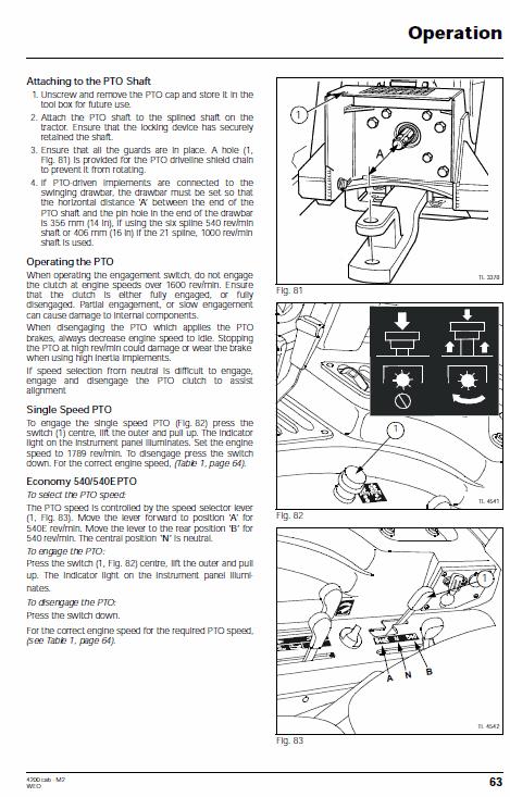 Massey Ferguson 4255, 4260, 4270 Tractor Service Manual