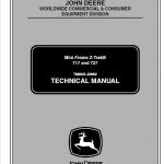 John Deere 717, 727 ZTrak Technical Manual