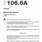 New Holland F106.6 And F106.6a Grader Service Manual