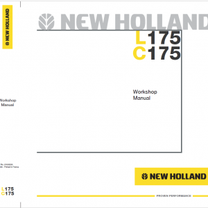 New Holland L175 Skidsteer Service Manual