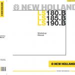 New Holland Ls180.b, Ls185.b And Ls190.b Skidsteer Service Manual