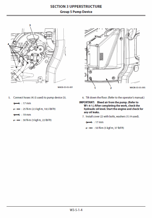 Hitachi Zx55u-5a And Zx55u-5b Excavator Service Manual