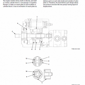 Hitachi Zx30u-5b Excavator Service Manual