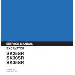 Kobelco Sk25sr, Sk30sr And Sk35sr Excavator Service Manual