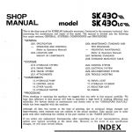 Kobelco Sk430 And Sk430lc Excavator Service Manual