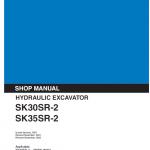 Kobelco SK30SR-2 and SK35SR-2 Excavator Service Manual