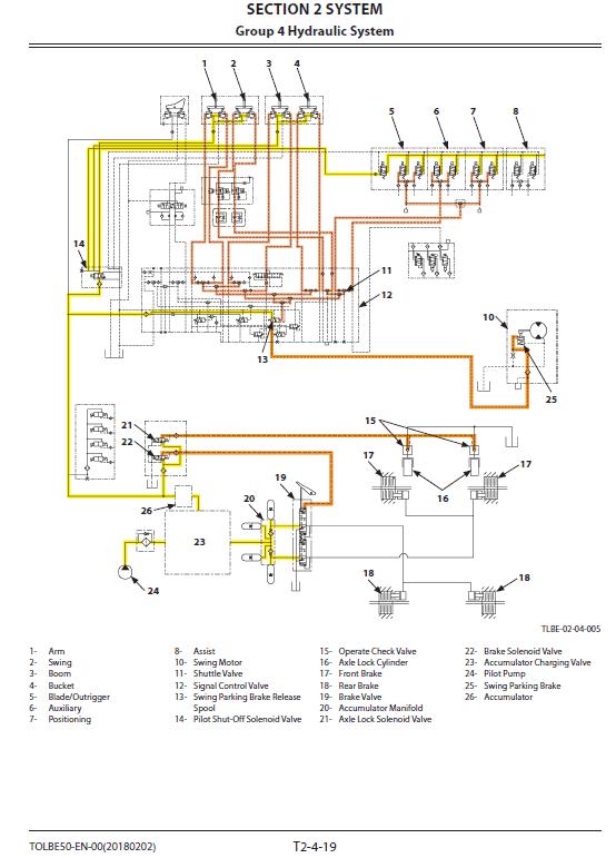 Hitachi ZX170W-6 Wheeled Excavator Service Manual