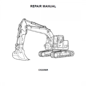 Case Cx225sr Excavator Service Manual