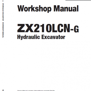Hitachi Zx210lcn-g Zaxis Excavator Manual