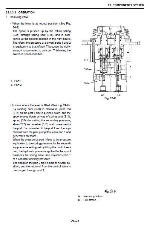 Case Cx40b And Cx50b Excavator Service Manual
