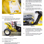Cub Cadet 1000 And 1500 Series Service Manual