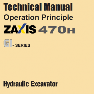 Hitachi Zx470h Gi Excavator Service Manual
